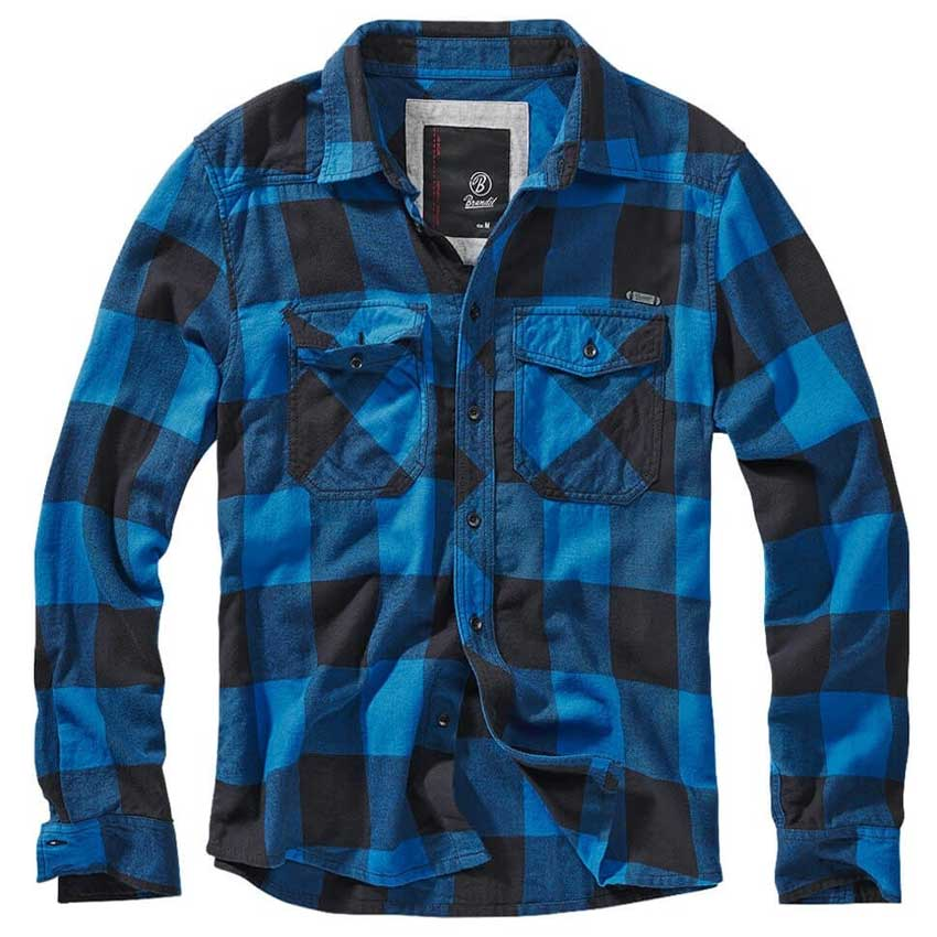 Checkshirt Black-Blue
