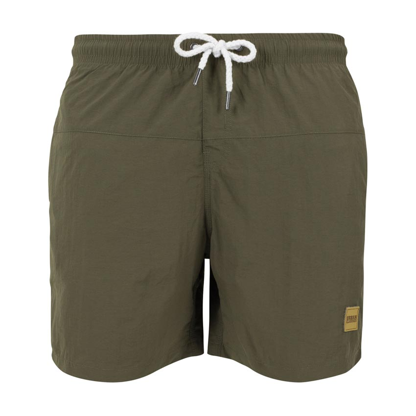 Swimshort Block Olive