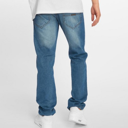 Jean Παντελόνι Moletro RelaxFit BlueWhite Big Sizes
