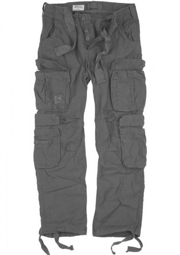 05-3998-04-SURPLUS-AIRBORNE-VINTAGE-GREY-CARGO-PANT-TATTOOFASHION-FRONT