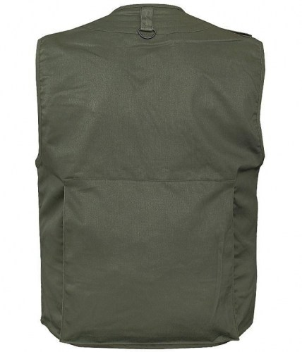 miltec hunting & fishing vest with mesh lining-olive