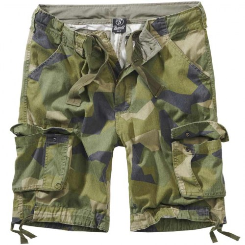 Brandit Urban legend shorts Swedisch Camo M90