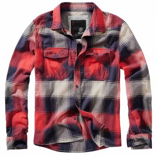 Checkshirt Red-Blue-Anthracite