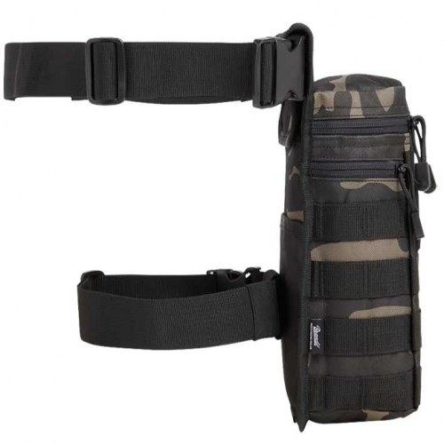 80634 Brandit Side Leg Kick Bag No2 DarkCamo