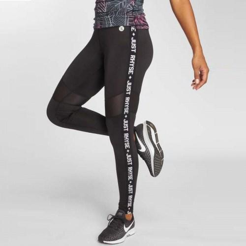 JLALP003BLK Black Leggings Waihola Active Just Rhyse Black