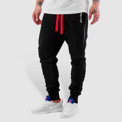 SweatPant Big Pocket Teck Black Just Rhyse