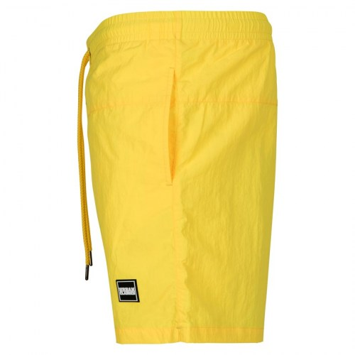 Swimshort Block NeonYellow