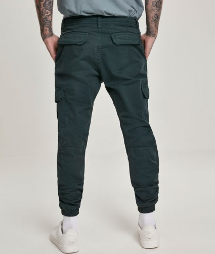 cargo jogging pants BottleGreen