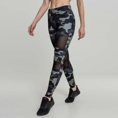 TB1939 darkcamo Leggings Mesh Urban Classics