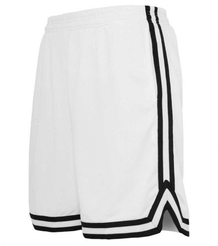 TB243 Stripes mesh White/Black Shorts Urban Classics