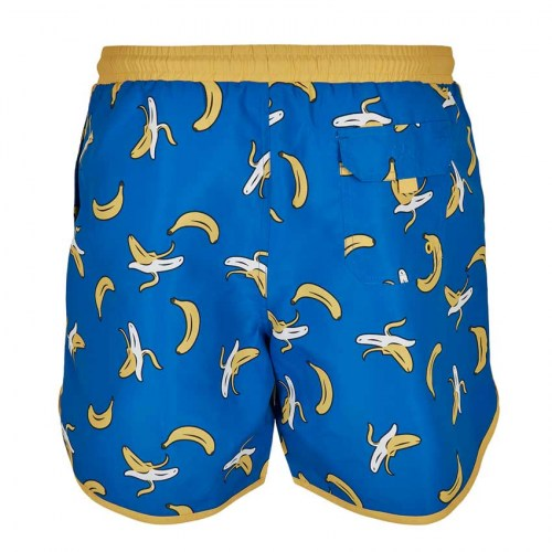 TB3706 Swimshort Retro Pattern Banana Urban Classics