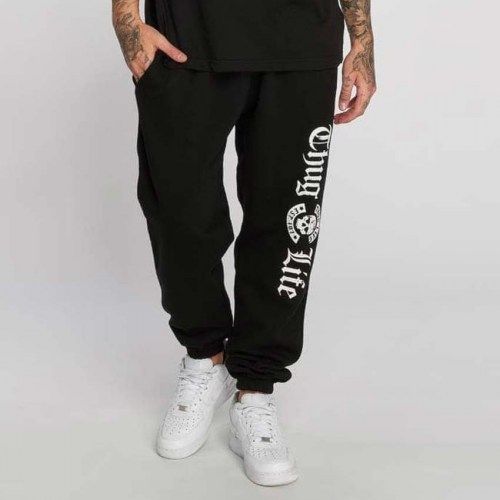 thug life sweat pant b.gothic black