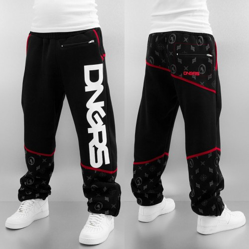dangerous-dngrs-sweat-pant-black-used